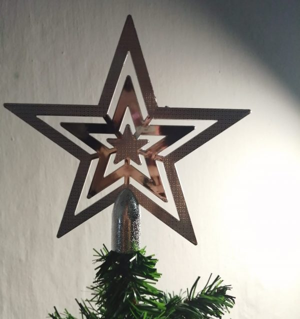 Silver Star - Tree Topper
