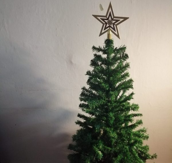 Gold Star - Tree Topper