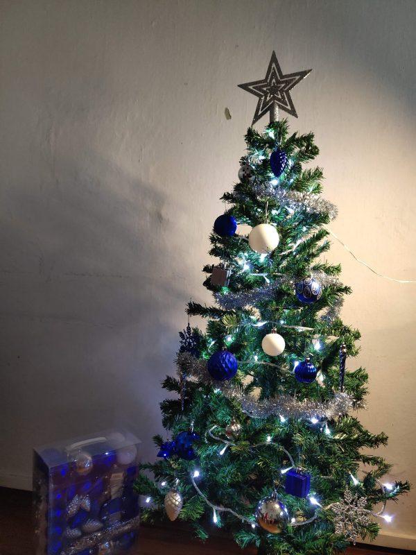 Blue Themed Tree 2
