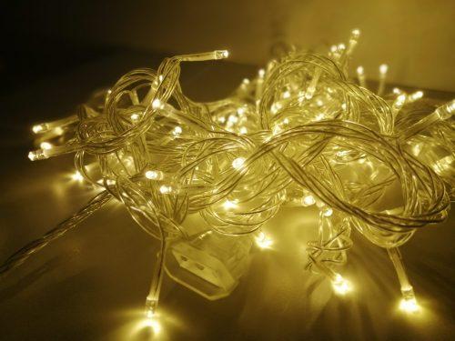 Warm white lights